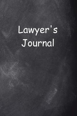 Lawyer's Journal Chalkboard Design