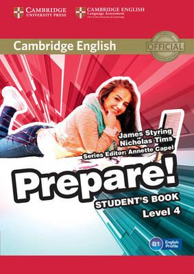 Cambridge English prepare! Level 4. Student's book. Per le Scuole superiori. Con espansione online