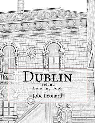 Dublin, Ireland Coloring Book