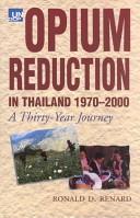 Opium Reduction in Thailand, 1970-2000