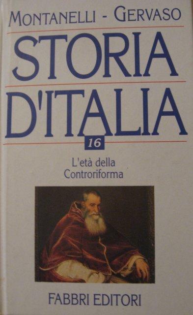 Storia d'Italia - volume 16