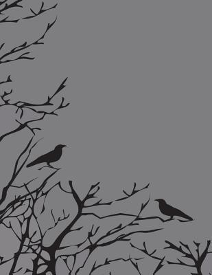 Birds in a Tree College Ruled Composition Notebook