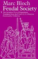 Feudal Society: v.1