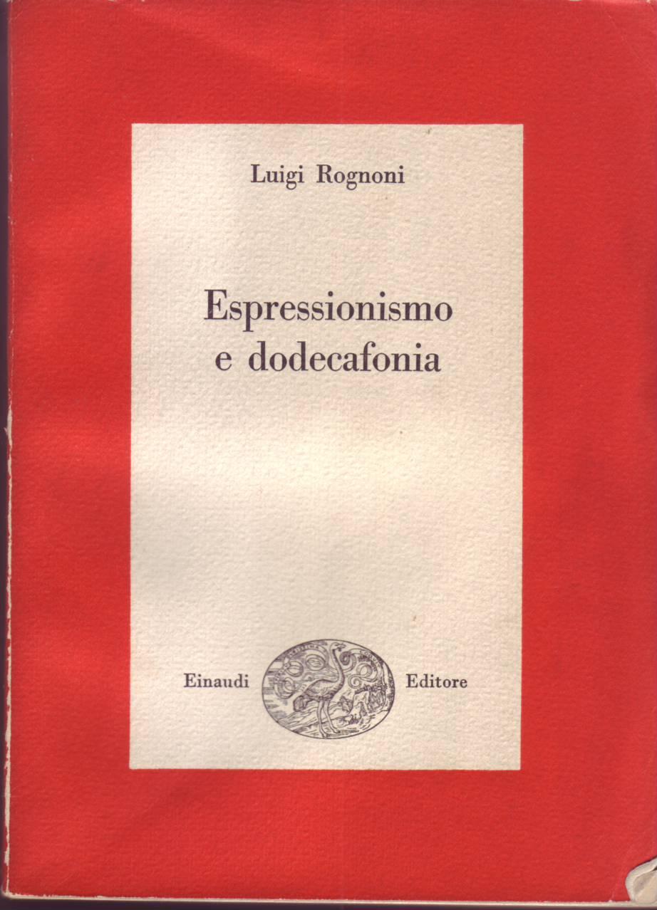 Espressionismo e dodecafonia