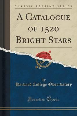 A Catalogue of 1520 ...