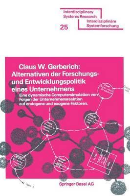 Alternativen Der Forschungs- Und Entwicklungspolitik Eines Unternehmens