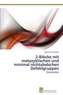 2-Blöcke mit metazyklischen und minimal nichtabelschen Defektgruppen