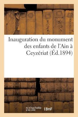 Inauguration du Monu...