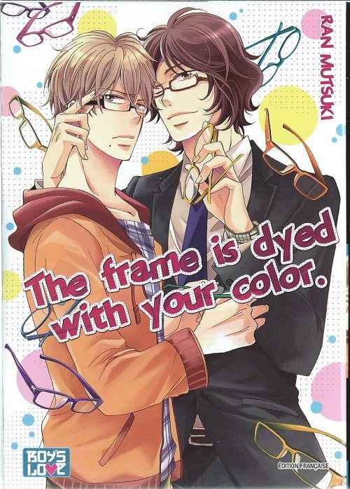 The frame is dyed with your color