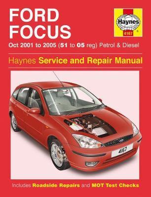 Ford Focus Petrol & Diesel (Oct 01 - 05) Haynes Repair Manual