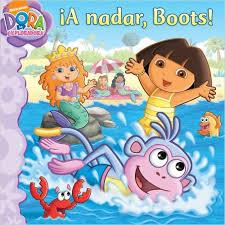 ¡A nadar, Boots!