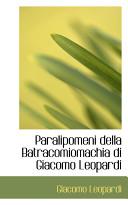 Paralipomeni Della B...