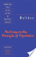 Malthus: 'An Essay on the Principle of Population'