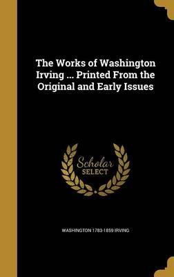 WORKS OF WASHINGTON IRVING PRI