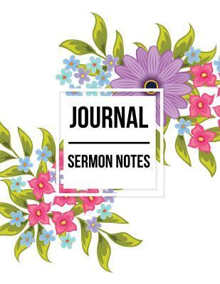 Journal Sermon Notes