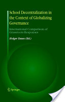School Decentralization in the Context of Globalizing Governance
