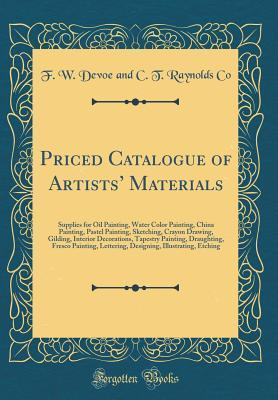 Priced Catalogue of Artists' Materials