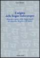 Origine delle lingue indoeuropee