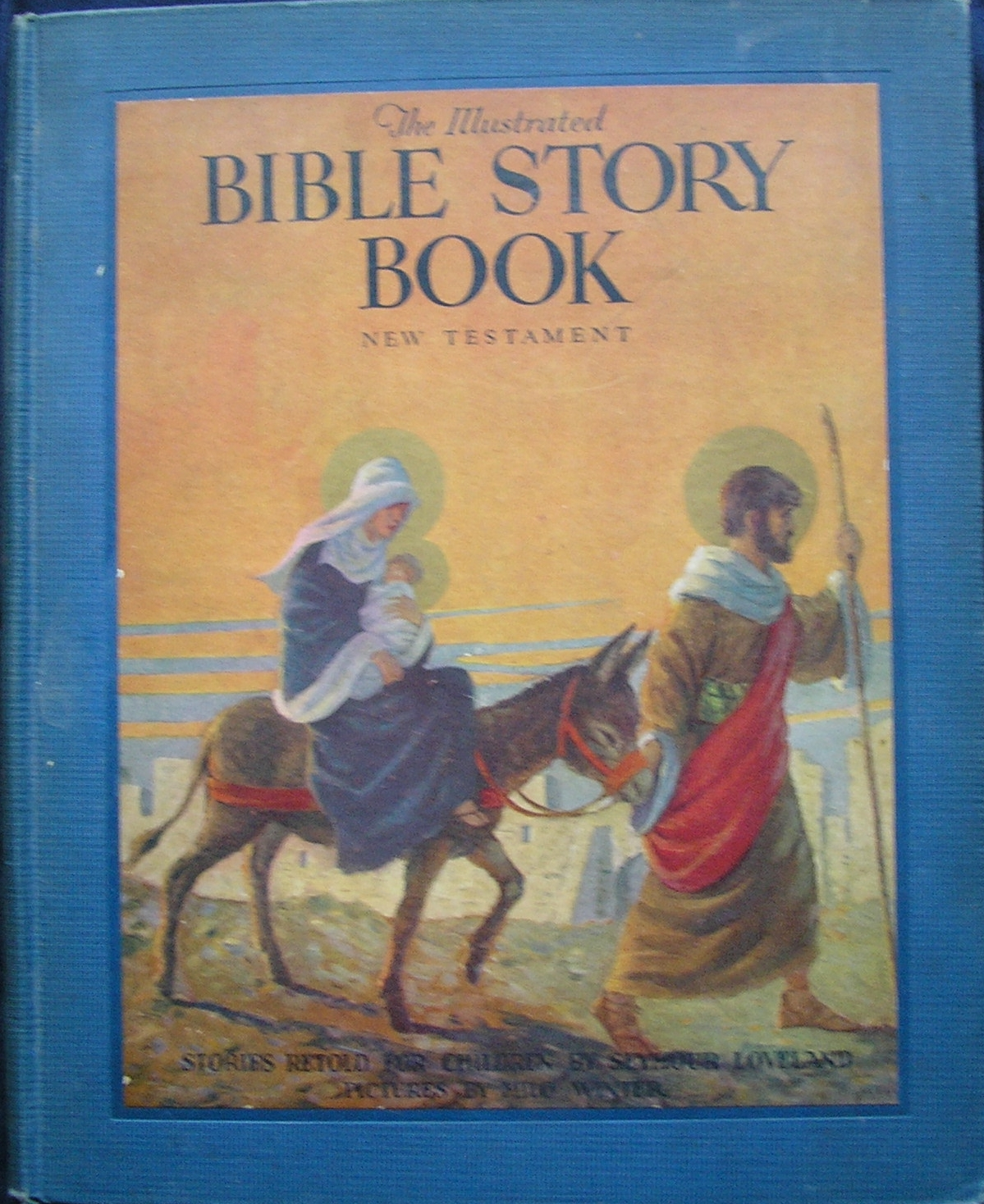The Illustrated Bible Story Book: New Testament