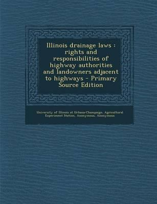 Illinois Drainage Laws