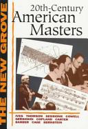 Twentieth-Century American Masters