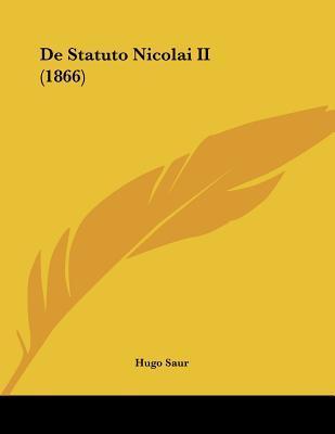 de Statuto Nicolai II (1866)