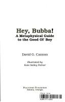 Hey, Bubba!