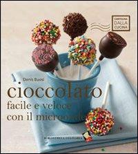 Cioccolato facile e veloce con il microonde