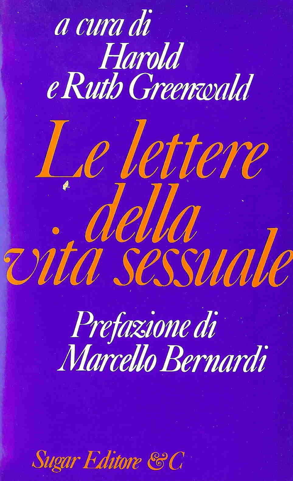 Le lettere della vita sessuale