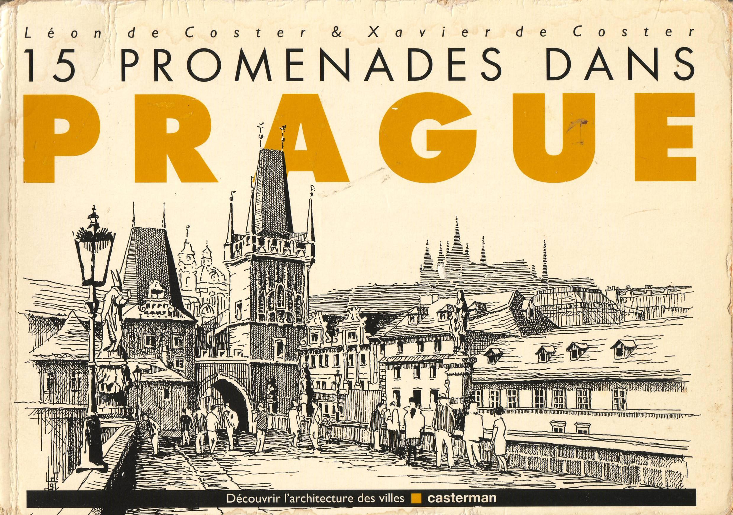 15 promenades dans Prague