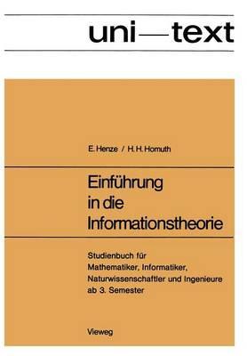 Einführung in Die Informationstheorie