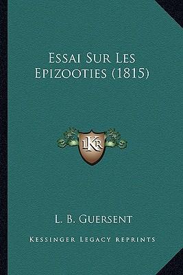 Essai Sur Les Epizooties (1815)