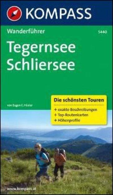 Guida escursionistica n. 5440. Tegernsee, Schliersee
