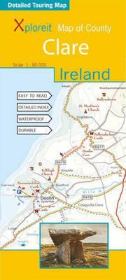 Xploreit Map of County Clare, Ireland (Xploreit County Series)