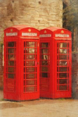 2 Telephone Booths