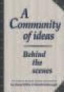 A Community of Ideas