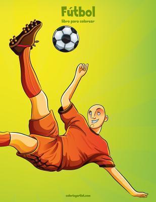 Fútbol libro para colorear 1