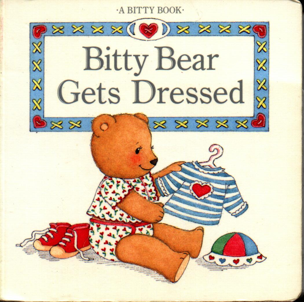 Bitty Bear gets dressed