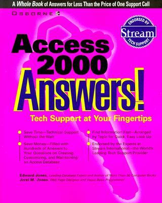 Access 2000 Answers!