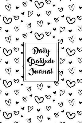 Gratitude Journal Scribbly Hearts Pattern 1