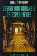 Design and Analysis of Experiments Fourth Edition and Educational Version of Design Expert