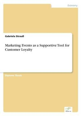 Marketing Events as a Supportive Tool for Customer Loyalty