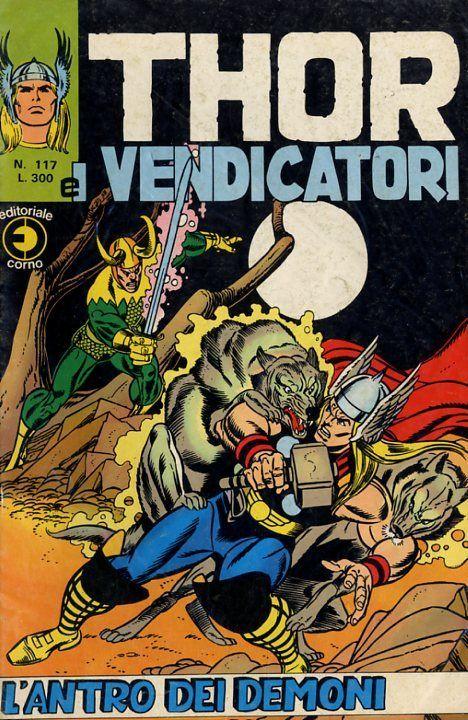 Thor e i Vendicatori (Il Mitico Thor) n. 117