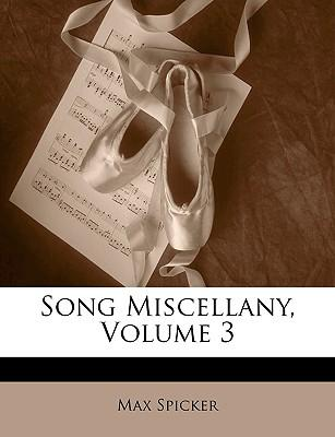 Song Miscellany, Vol...