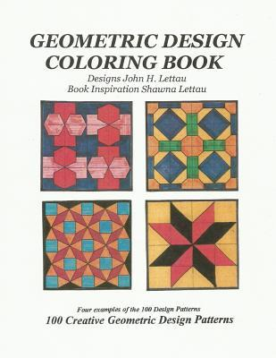 Geometric Design Coloring Book
