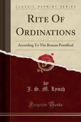 Rite Of Ordinations