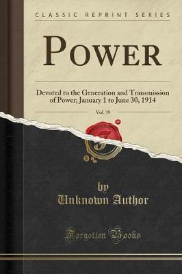 Power, Vol. 39