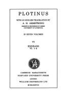 Plotinus, With an English Translation