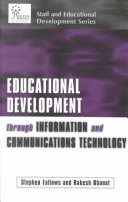 Educational development through information and communications technology