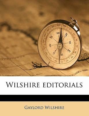 Wilshire Editorials